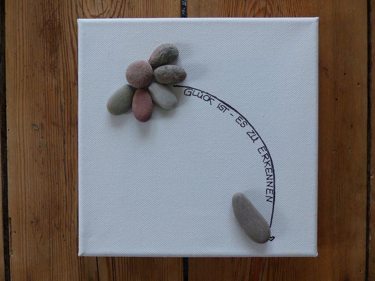 58 besten steinbilder bilder auf pinterest bemalte steine steine bemalen und steinkunst - Steinbilder auf leinwand ...