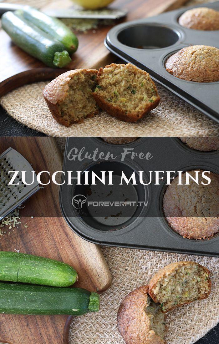 Zucchini muffins - gluten free