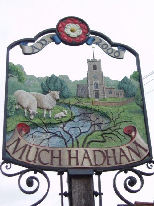 Much Hadham village, East Hertfordshire, England, UK