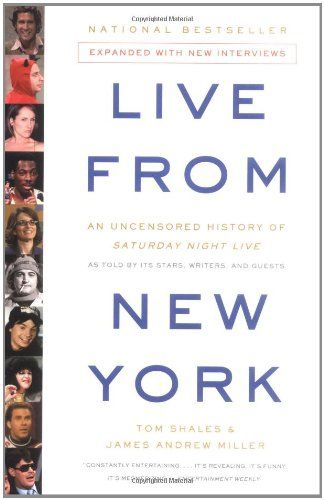 Live From New York: An Uncensored History of Saturday Night Live, as Told By Its Stars, Writers and Guests by Tom Shales http://www.amazon.com/dp/0316735655/ref=cm_sw_r_pi_dp_MZ-Ztb1QVQSMKVKD