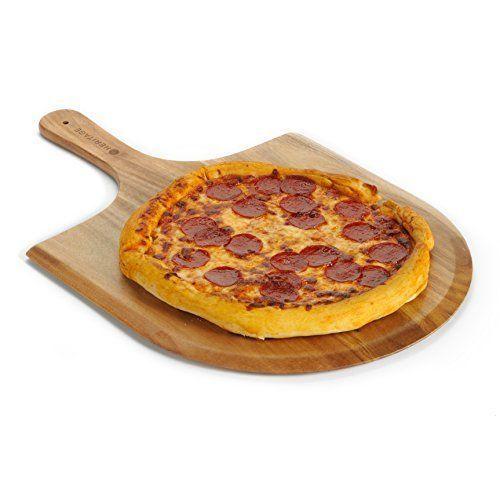Heritage Acacia Wood Pizza Peel