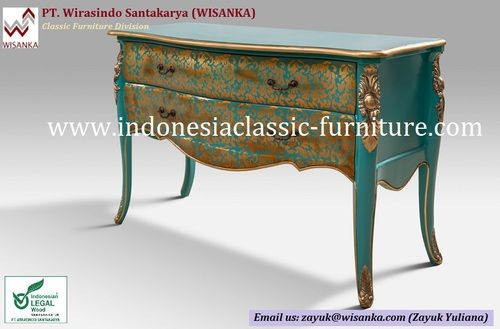 Painted Bombay Chest : Material: Mahogany wood Finishing: Painted Order? email to zayuk@wisanka.com | zayuk3116