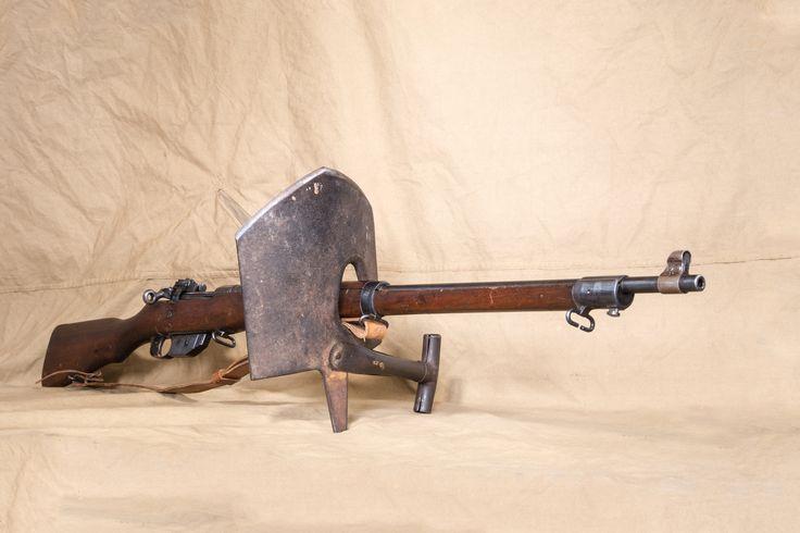 The very rare MacAdam's shovel, part of the Ruthven Park collection