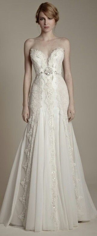 Vintage lace wedding dress. Oh. My. Goodness. Beautiful. Perfection. Love the body style, not too tight, but fitting in the right spots #myweddingnow.com #my_wedding_now #Top_Lace_Wedding_Dress #Wedding_Dress #Simple_Lace_Wedding_Dress #easy_Lace_Wedding_Dress #Best_Lace_Wedding_Dress #Lace_Wedding_Dress