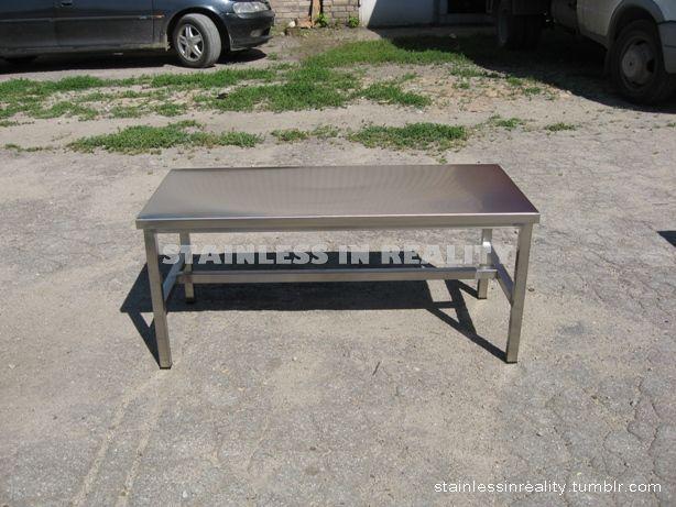 СТОЛ-ПОДСТАВКА ОСТРОВНОЙ. Стол предназначен для использования в качестве подставки под инвентарь, крупную посуду и оборудование...