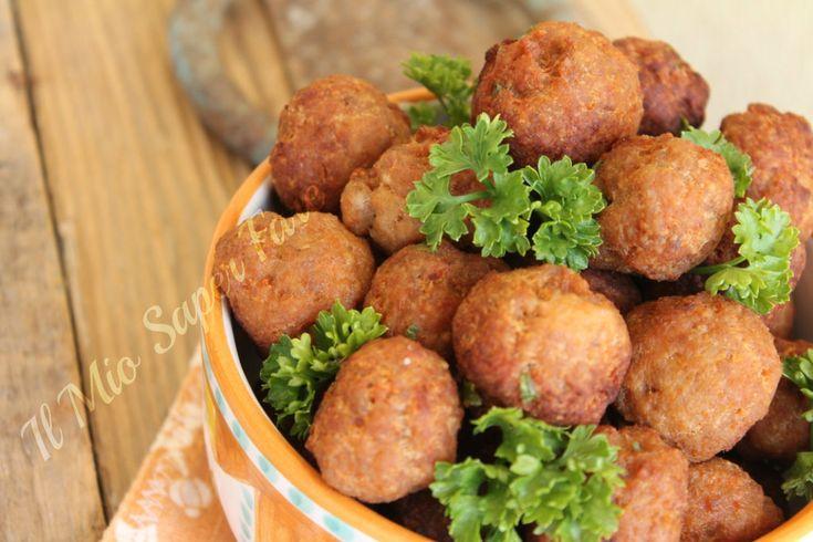 Polpette di carne fritte blog il mio saper fare