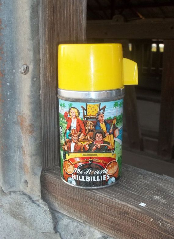 Vintage Lunch Box Thermos The Beverly by QueenLondonsCarriage, $15.75