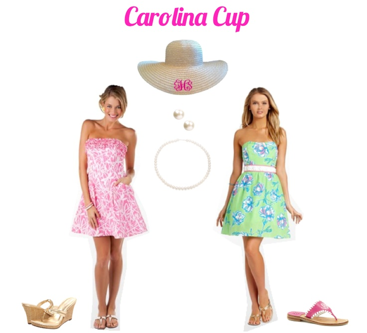 The Pink and Green Prep: What to Wear: Carolina Cup