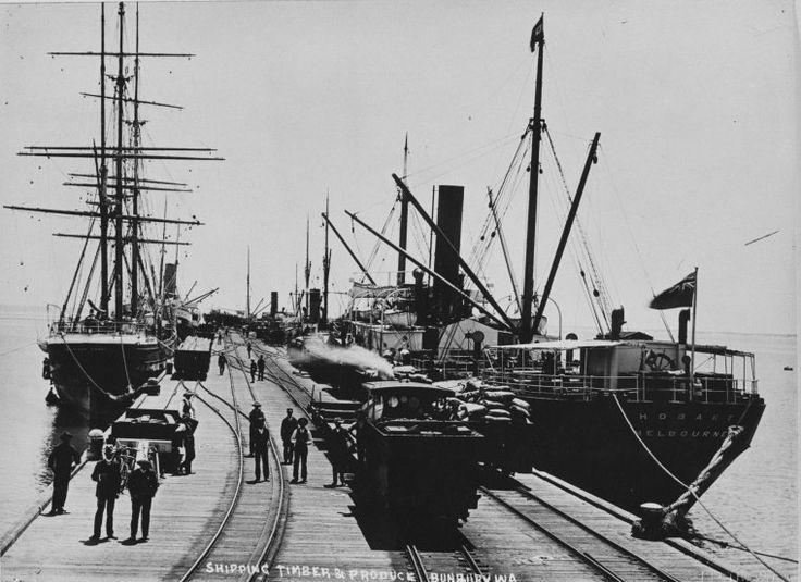 024559PD: Bunbury jetty, ca 1925 http://encore.slwa.wa.gov.au/iii/encore/record/C__Rb2980925?lang=eng