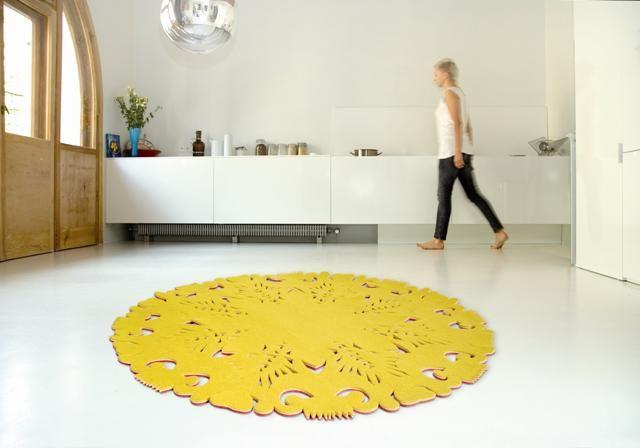 Carpet inspired by Polish folk art. By:  MOHO Design  #design #poland #polska #folk