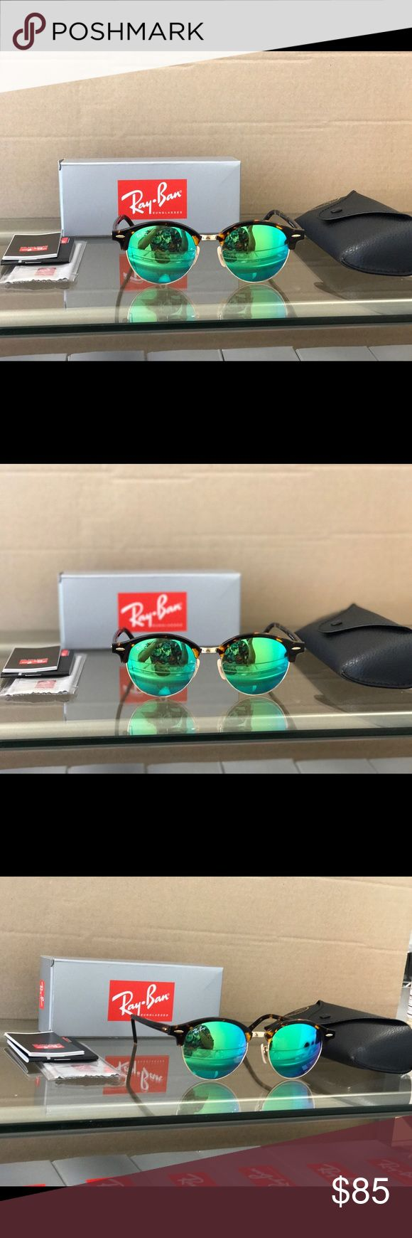 Authentic Ray-Ban Round Metal Sunglasses 51mm NWT Get yourself a beautiful pair of brand new Ray-Ban sunglasses for 65% off retail price! Please refer to the details below to get a better idea of what you are purchasing:  •These are 100% Brand New and Aut