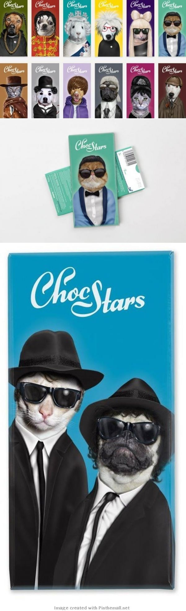 OMG! look what I found more cute Choc Stars #packaging PD via http://www.trendenciasshopping.com/alimentacion/choc-stars-chocolate-con-mucho-glamour