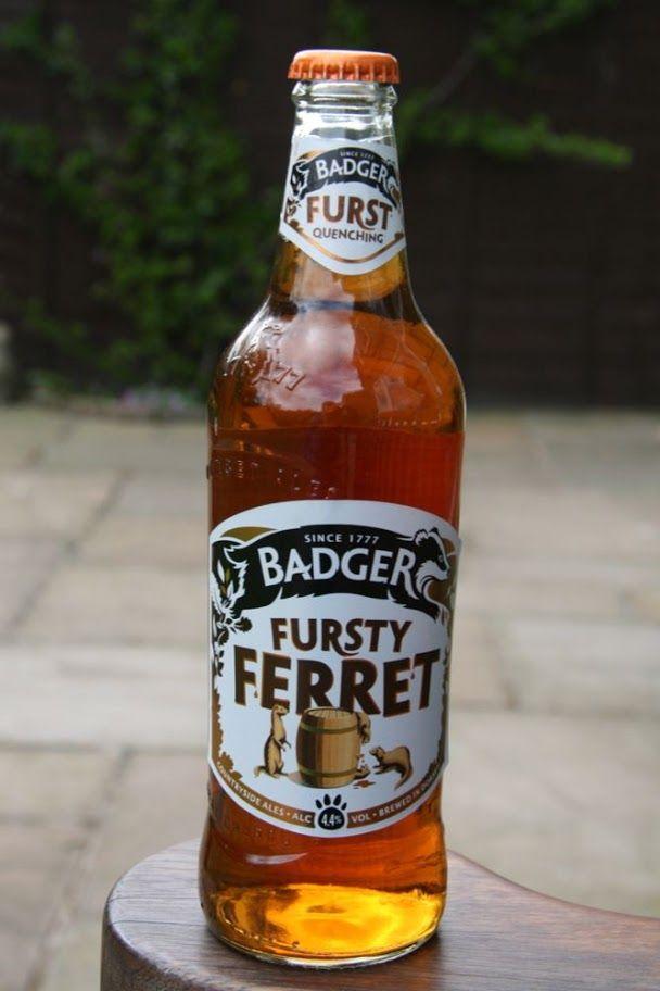 Bottled Beer of the World - pjb 13 - Picasa Web Albums - Badger Fursty Ferret Ale (4.4%) - Hall & Woodhouse Brewey Blandford St. Mary Dorset England