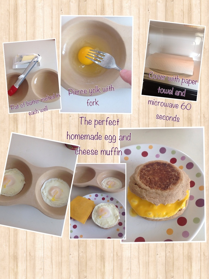 how to make your own egg mcmuffin in 60 seconds
