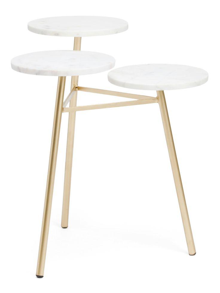 tj maxx round coffee table