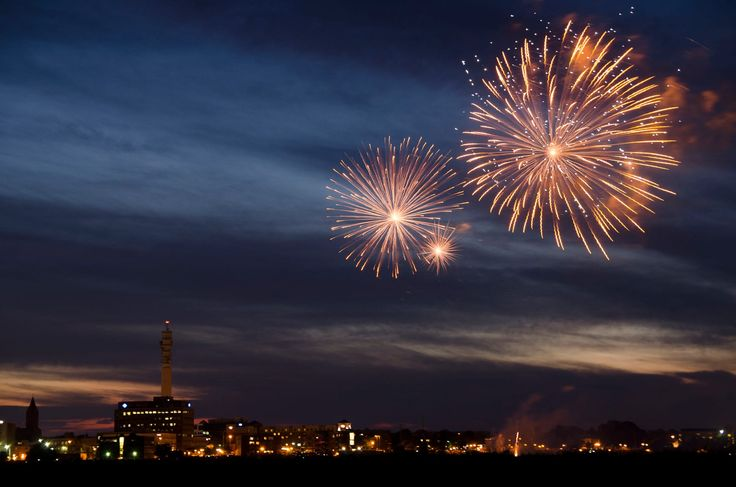 moncton fireworks by Andy Janes on 500px