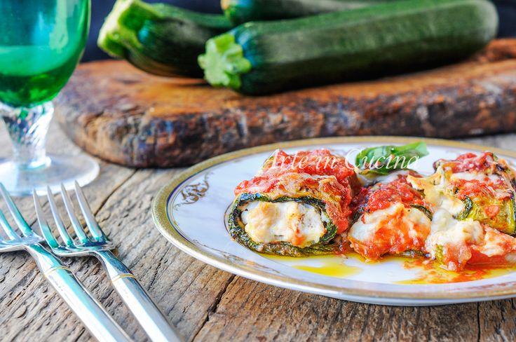 Rotolini di zucchine ricotta e tonno ricetta veloce vickyart arte in cucina