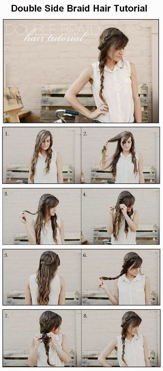 DIY : Double Side Braid Hairstyle