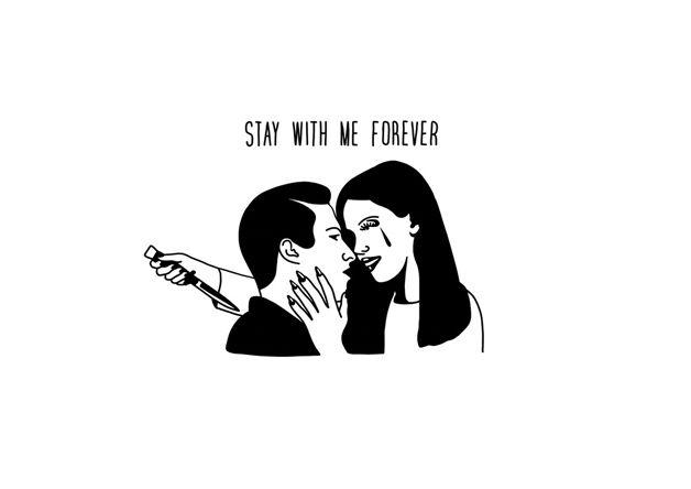 Fique comigo pra sempre