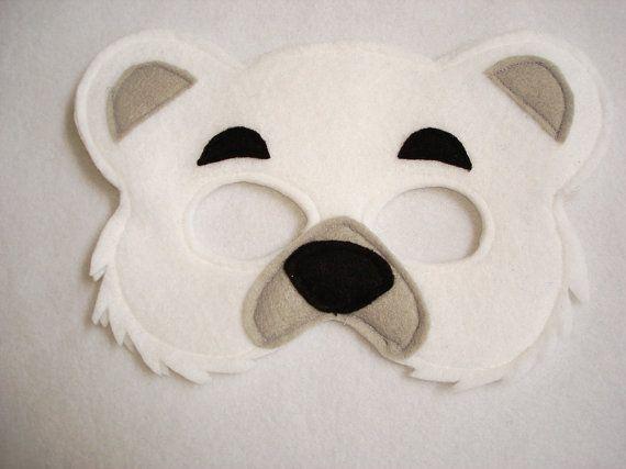 Маска белый медведь своими руками - Азбука идей
