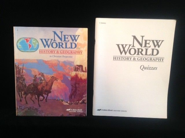 Abeka New World History Student Bk Student Quizzes 3rd Ed 6th