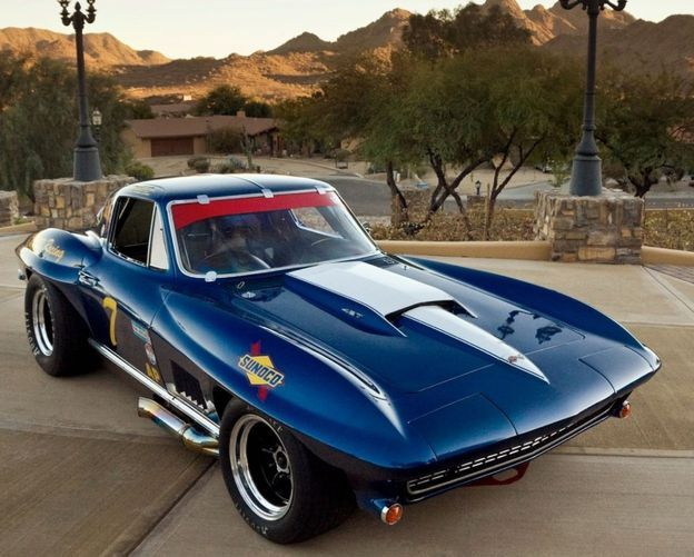 Corvette Stingray Custom Muscle Cars 59