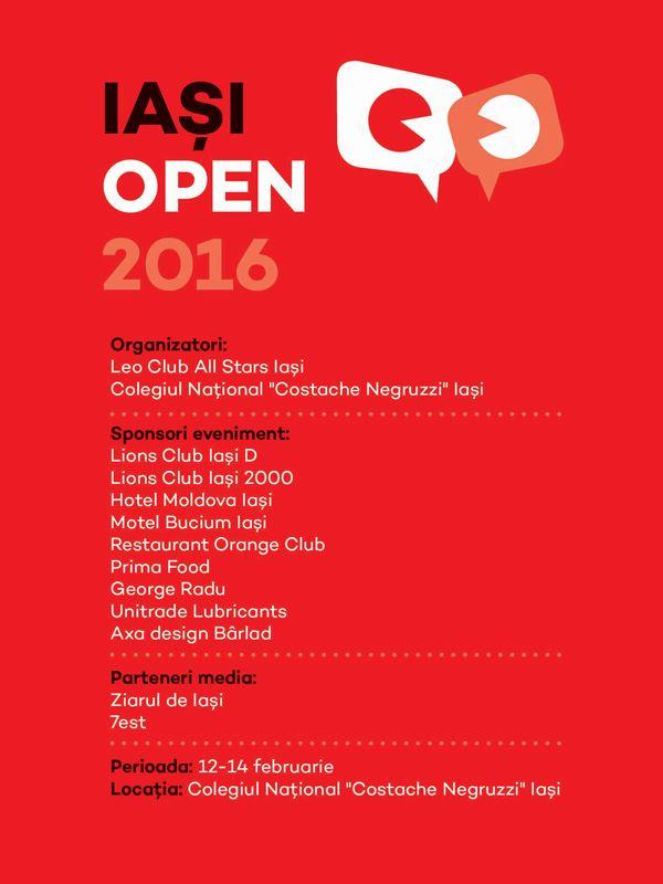 Iasi Open 2016 – concurs national de debate | IasiFun - site-ul tau de timp liber!