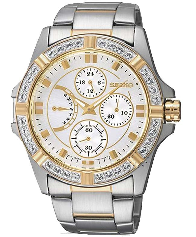 SEIKO LORD Ladies Crystal Stainless Steel Bracelet  299€  http://www.oroloi.gr/product_info.php?products_id=31717