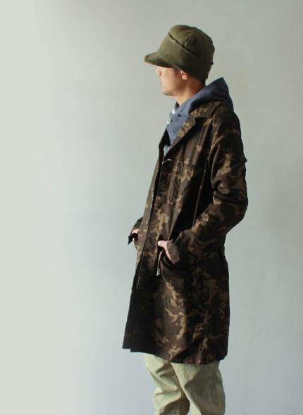 [KAPITAL] Camouflage Shop Coat