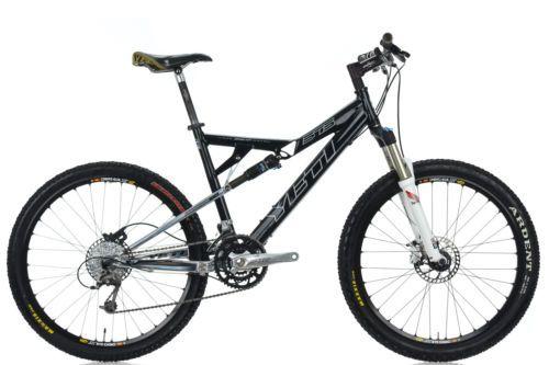 """2007 Yeti 575 AS-R Long Travel Full Suspension Mountain Bike 18.5"""" Large Shimano"""