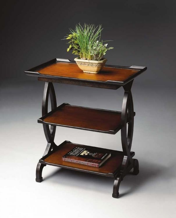 1570109 Transitional Cherry Side Table