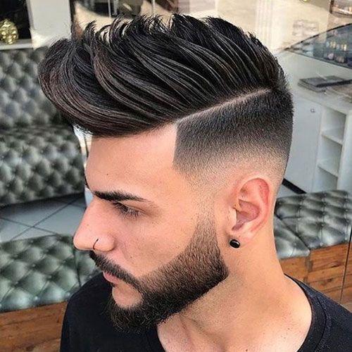 Pompadour hair for men