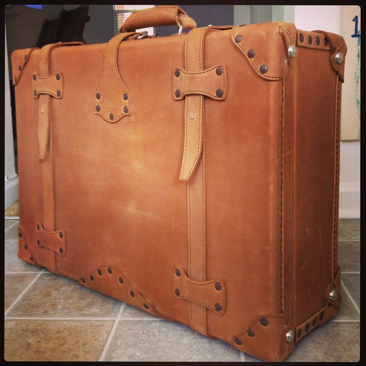 Shop Leather Suitcase | Saddleback Leather Co.- well crafted, handmade, no zippers, old fashioned suitcases.
