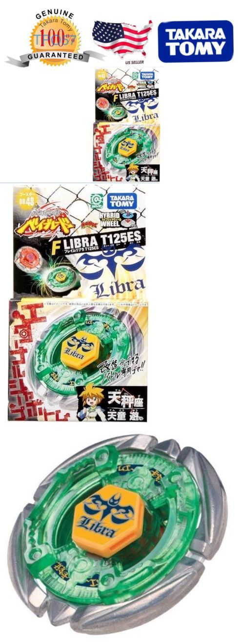 BeyBlade 38323: Takara Tomy Beyblade Bb48 Metal Fusion Flame Libra T125es Usa Seller -> BUY IT NOW ONLY: $49.95 on eBay!