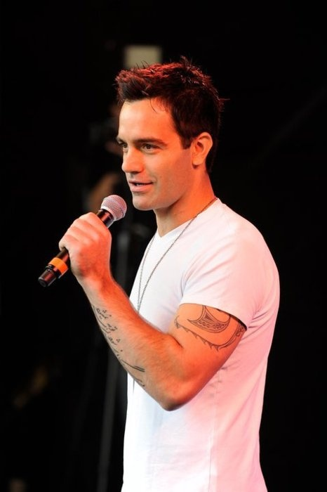Ramin Karimloo from Phantom of the Opera. His voice just gives me the chills every time I hear him sing.