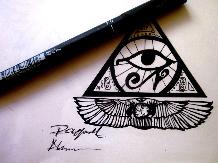 ojo de horus piramide tatuaje - Buscar con Google