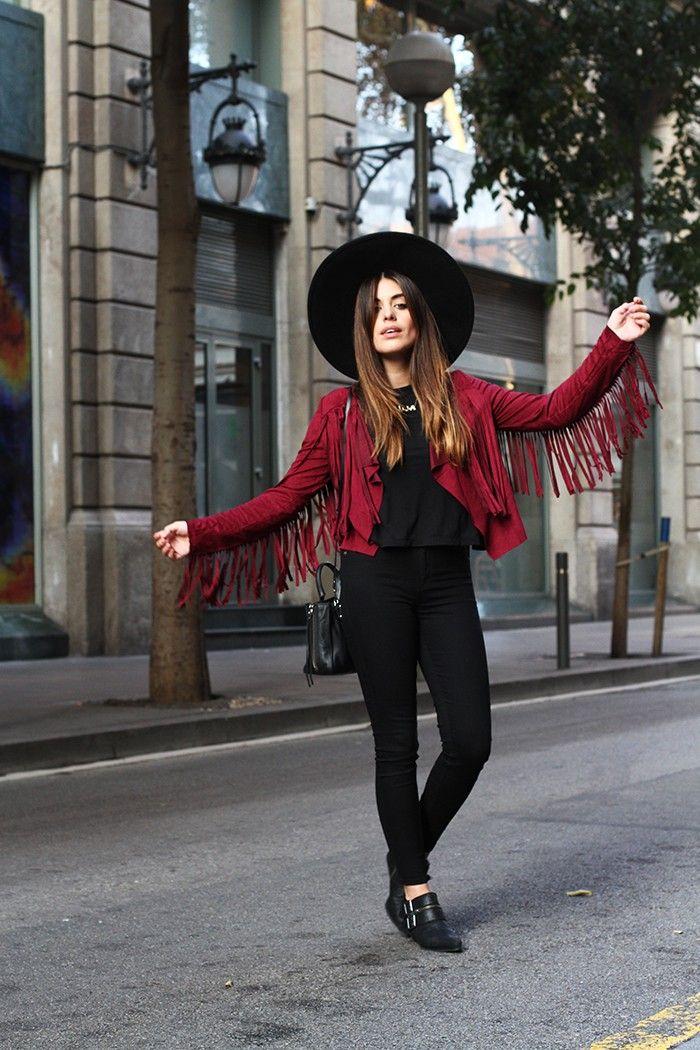 412c631951b7 FRINGED JACKET (DULCEIDA). Jackets FashionFashion ...