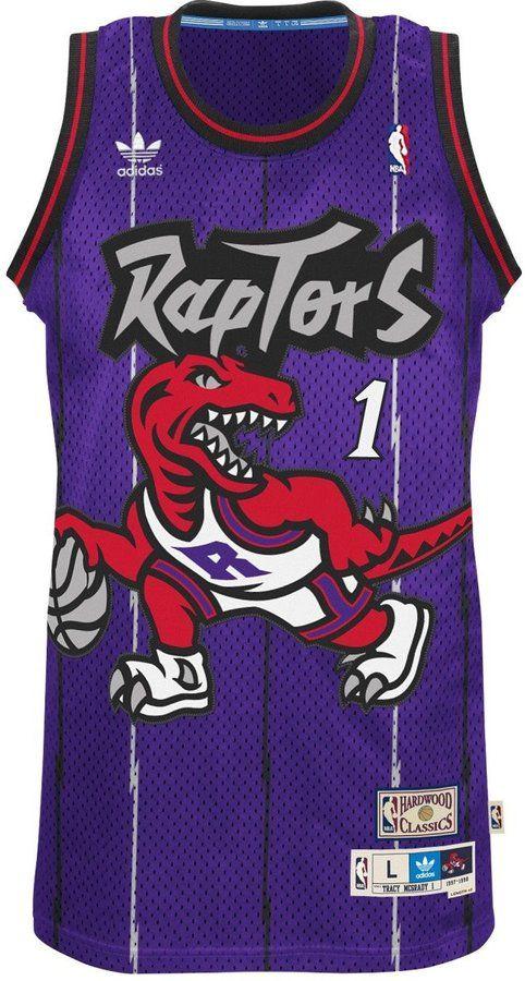 Tracy McGrady Toronto Raptors Adidas NBA Throwback Swingman Jersey - Purple