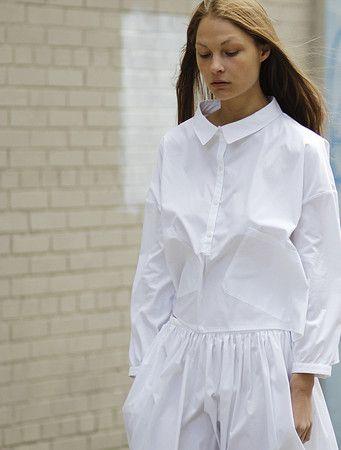 Baggy Shirt, White