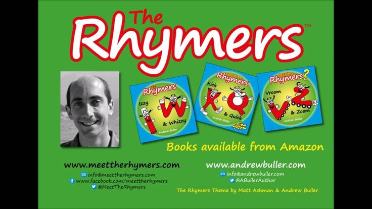 CHILDREN'S RHYMING ALPHABET BOOKS - The Rhymers Book Trailer - by Andrew...