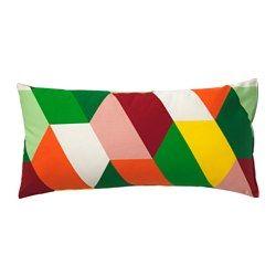 IKEA - HÖSTFIBBLA, Coussin, , Le garnissage de polyester conserve sa forme tout en offrant au corps un soutien souple.Peut s'utiliser comme appui-tête ou comme coussin lombaire pour plus de confort.