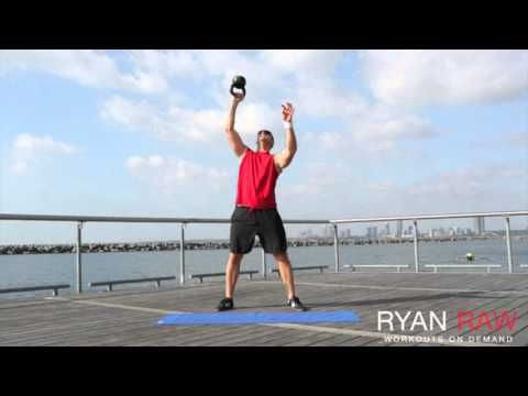 Carve Off Your Love Handles | Powerful 20 Minute Kettlebell Workout For Women & Men! - YouTube
