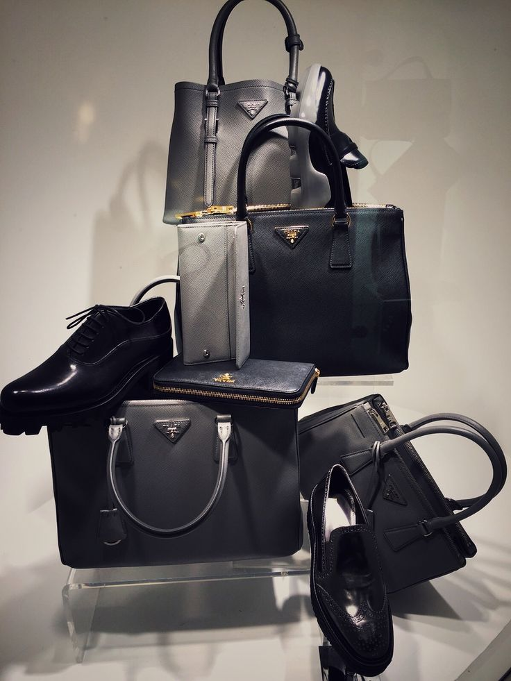 Prada Bags and Shoes FW2015/16