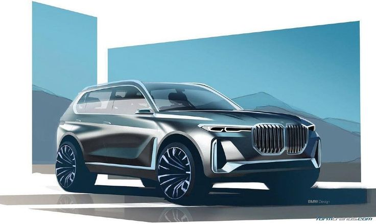 #BMW X7 iPerformance concept sketch. Full set and story here > https://www.formtrends.com/bmw-x7-iperformance-concept/