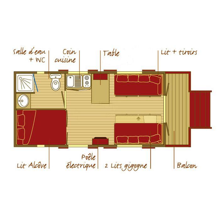 roulotte floorplan