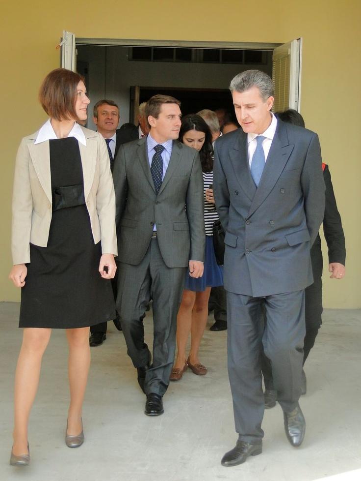 Prince Radu and Prince Nicolae in Arad County