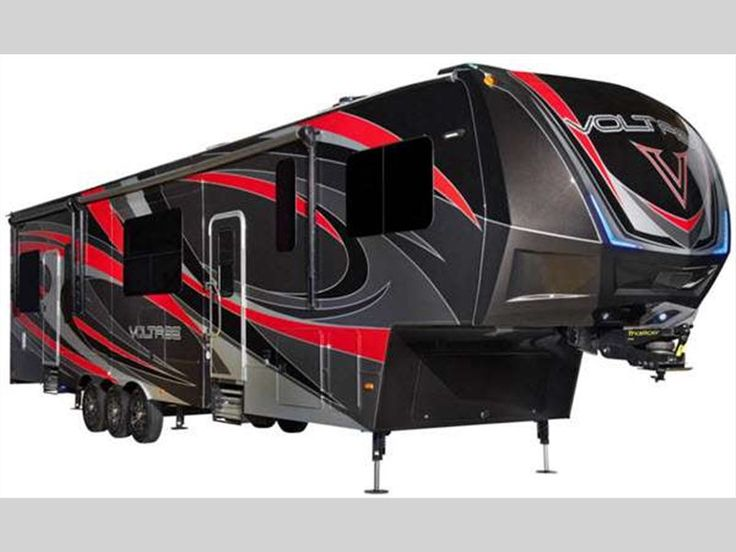 New Dutchmen RV Voltage V3200 Toy Hauler Fifth Wheel for Sale | Review Rate Compare Floorplans - RVingPlanet