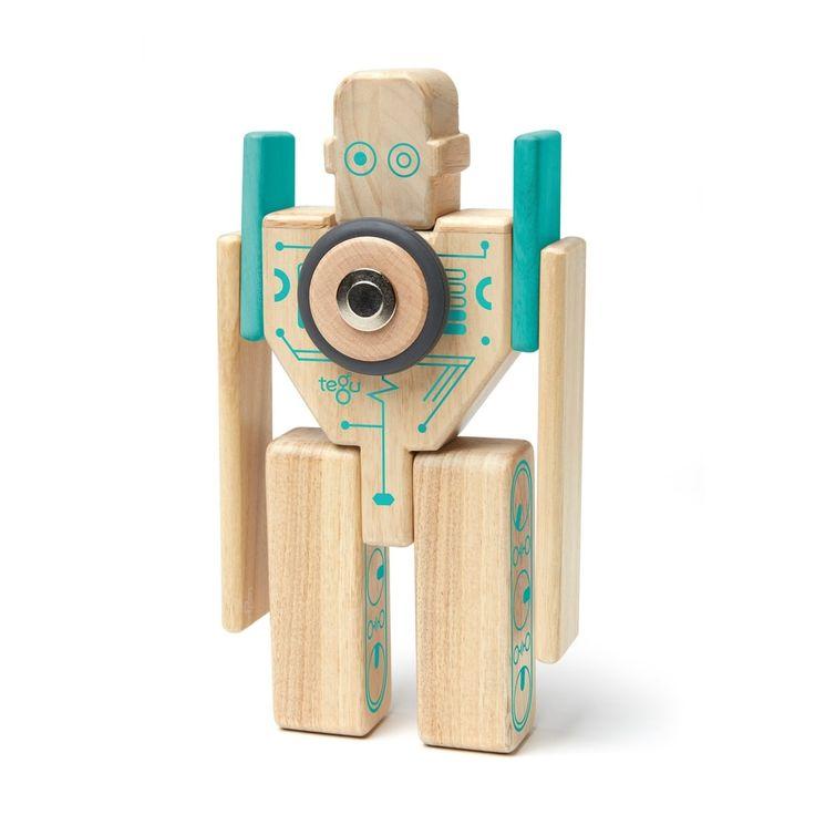 Tegu Magnetset - Stein für Stein zum coolen Robote