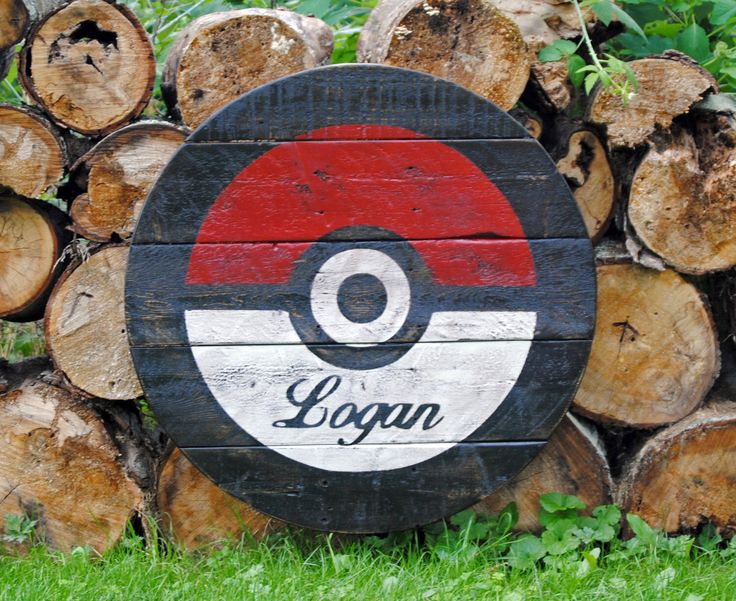 Pokemon wood sign, Pokeball wood sign, Pokemon, Pokemon Go, Pokeball, Wood sign, Rustic Sign, Personalized by JWCraftsmanStore on Etsy https://www.etsy.com/listing/469412815/pokemon-wood-sign-pokeball-wood-sign