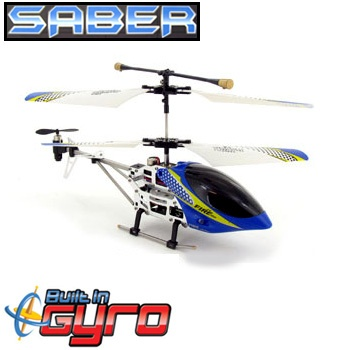 Great for people of all skill levels, this bad boy features a coaxial rotor a single rear rotor for precise movement and a GYRO for increased stability whether flying or hovering. This RC helicopter has a metal body making it strong yet light weight so you don't have to worry about breaking anything when you land it a bit too rough.